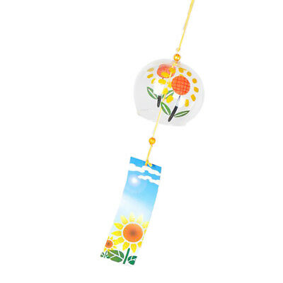 Wind Chime Glass Wind Bell Window Garden Decor Ornament in Japanese Style #2