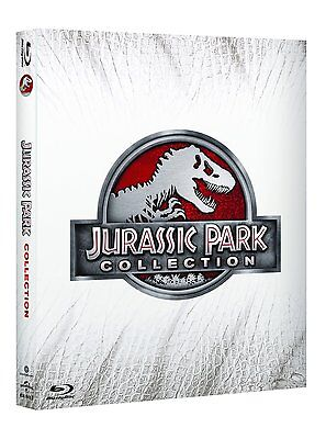 Pack 4 Blu-Ray Tetralogia Jurassic Park Coleccion Dinosaurios Spielberg Bluray