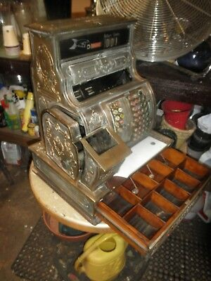 Antique National Cash Register Model 1064-G