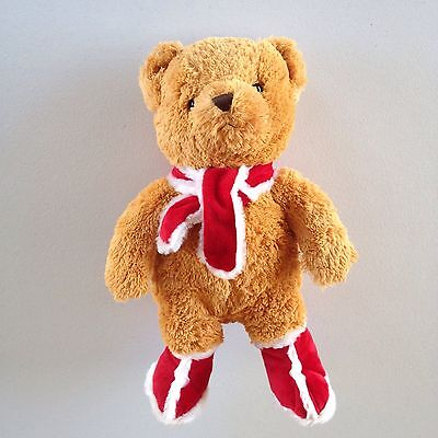"""16""""  Holiday Pets 2007 Record and Play Bear Plush Snuggie Toys"""