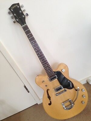 "Gretsch Guitar Vintage USA 1974 – Rare ""Broadkaster"" Model 7603"