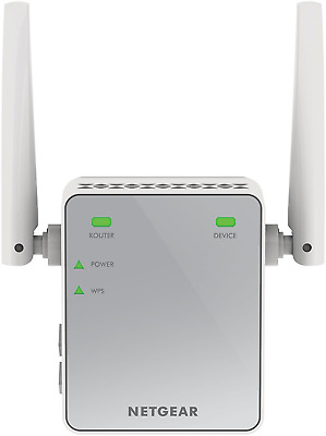 Netgear EX2700-100PES Ripetitore Wireless Universale, N300 Mbps, Fast Ethernet