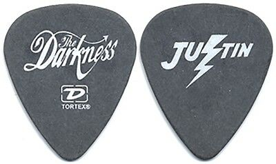 The Darkness Justin Hawkins authentic 2004 tour issued custom stage Guitar Pick