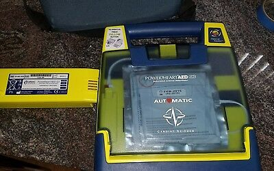 Cardiac Science Powerheart G3 AED Automatic w/ Battery, Pads & Case