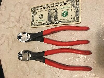 Knipex cutters lot of 2