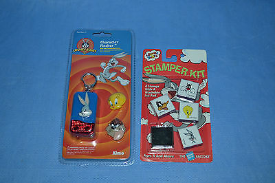 Looney Tunes Character Flasher And Stamper Kit/warner Bros/1994