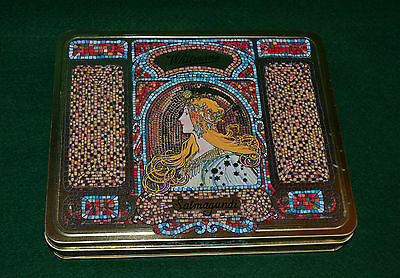 Whitman's Salmagundi Tin/1997/art Nouveau Lady