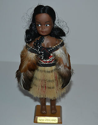 Parr's Maori New Zealand Doll Handcrafted 1989
