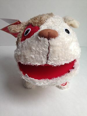 NEW w/TAGS Hallmark Sound & Motion Plush Dog, Yakety DAWG Singing Valentines Day