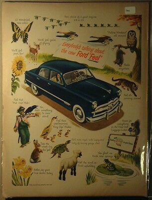 1949 Ford Ad Ford Feel