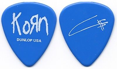 Korn Fieldy authentic band issued 2003 Untouchables tour signature Guitar Pick