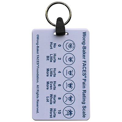 5 Card Pediatric Keychain Badge Pocket Card Reference Set for Nurse Medic