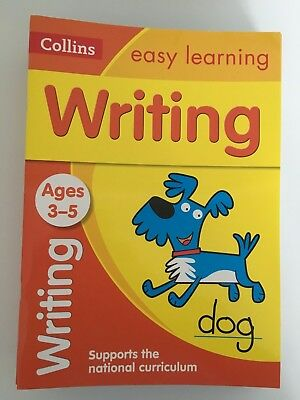 Collins Easy Learning 'Writing' Ages 3-5 Pre-school/Reception Workbook