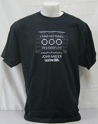 John Mayer Official Crew Shirt 2004 Concert Tour NEVER WORN XXL roadie stage