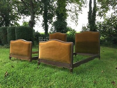 Antique twin beds french - pair of single beds vintage