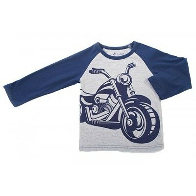 Minifin Boys Motorcycle Tee Sizes 0-2 **Clearance**