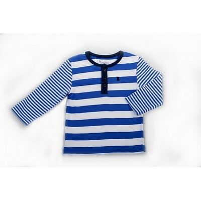 Minifin Boys Striped Tee Sizes 0-2 **Clearance**