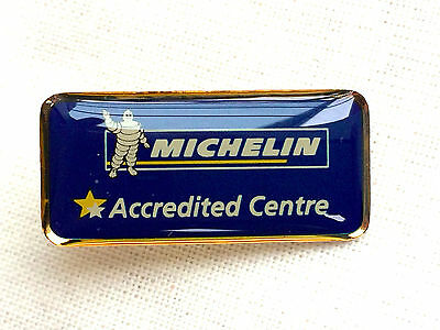 Michelin 'Accredited Centre' Pin Badge - Genuine New Old Stock