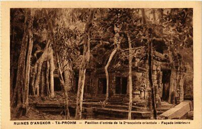 CPA Cambodge Indochine Ruines d'Angkor Ta Prohm. (550797)