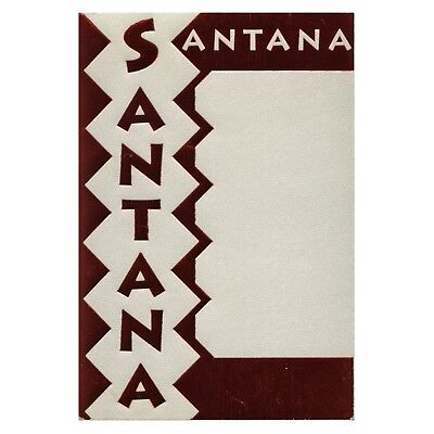 Santana authentic 1990 Spirits Dancing in the Flesh Tour Backstage Pass Foil