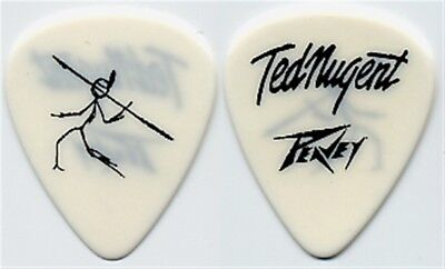 Ted Nugent authentic 2003 Craveman tour issued concert collectible Guitar Pick