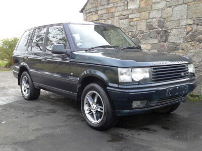 Range Rover P38 Holland & Holland 4.6L with LPG and rear screen entertainment