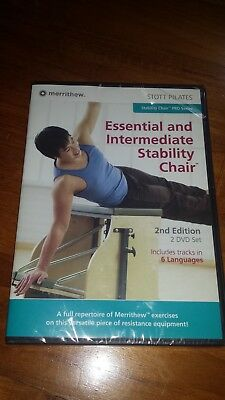 Stott Pilates Essential and Intermediate Stability Chair DVD