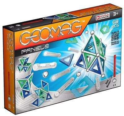 Geomag 68-Piece Construction Set with Assorted Panels – Mentally Stimulating...