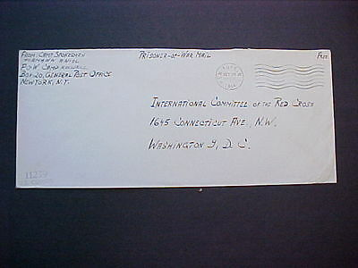 WWII POW Camp: 1944 U.S. Censor 11239 Cover, Camp Roswell (New Mexico)