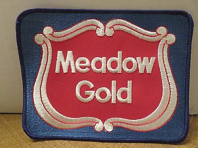 Meadow Gold Dairy Cloth Patch