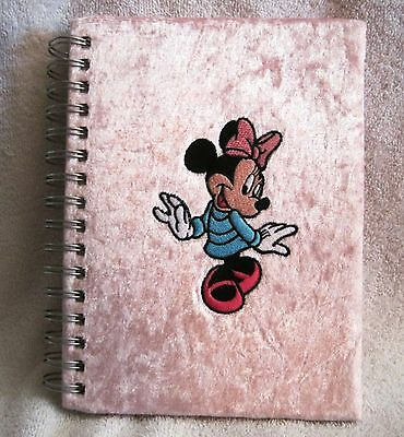 Beautiful - Plush - Pink - Minnie Mouse - Ruled Notebook - Great Gift Item!!
