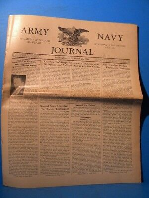 Army & Navy Journal 1946 March 23 1946 Vol 83 No 30