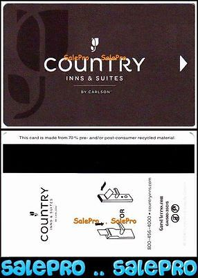 COUNTRY INNS & SUITES 2014 USA by CARLSON AWARD NIGHTS STATE HOTEL ROOM KEY