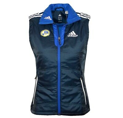 adidas PL Athletic Step-Weste Vest Blau Primaloft Damen FIL-Athletenweste Warm