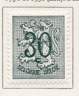 Belgium 1957 Early Issue Fine Mint Hinged 30c. 174156