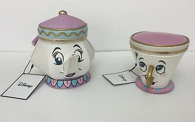 Beauty And The Beast Disney Primark Mrs Potts Bag/Purse & Chip Coin Purse