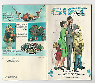 VINTAGE GIFT IDEAS CATALOG 1950's EBNER FILLMORE PHILLIPSBURG NJ Kitchenware etc