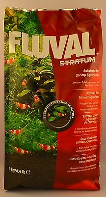 Fluval Plant and Shrimp Stratum - 4.4 lb (2 kg) - Natural Aquarium Substrate