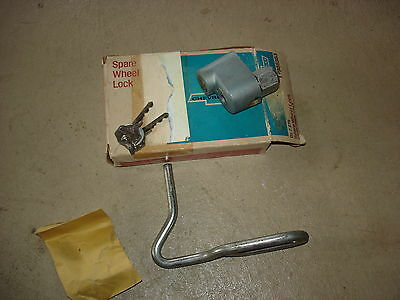 1966 66 Chevelle Super Sport Nos New Old Stock Ss Spare Tire / Wheel Lock 986383