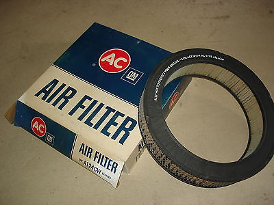 61 62 63 64 65 66 67 Nos Ac A124Cw Air Filter Olds Cadillac Pontiac 6421343