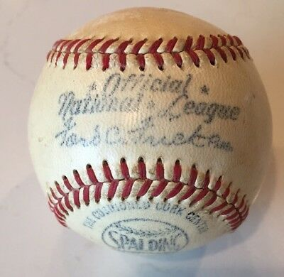 Ford Frick Official National League Spalding Baseball Rare Vintage 1949-51 Ball