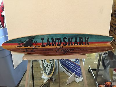 landshark surfboard sign