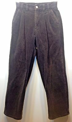 Vtg Women's Gap Corduroy Pants Brown 1969 Heavyweight See Measurements Classics