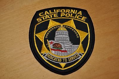 "VINTAGE & DEFUNCT, ""CALIFORNIA STATE POLICE""  PATCH      ( Rare )"
