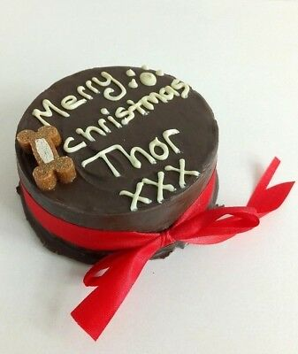 DOG CHRISTMAS CAKE PEANUT BUTTER treat puppy food gift party NOW TAKING ORDERS