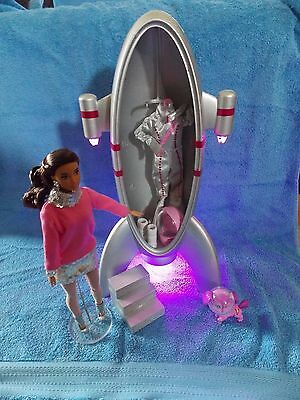 2017 Barbie Doll Convention Space Ship Centerpiece 1:6 Scale Great for Diorama