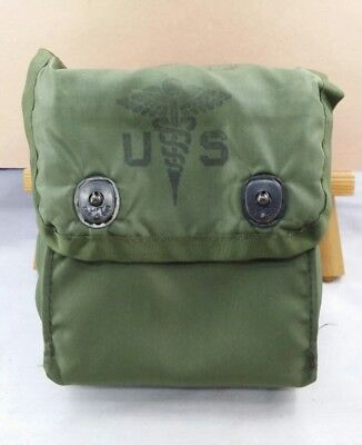 Us Military First And Kit Individual W/ Insert First Aid Kit Case