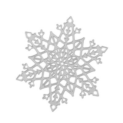 Lovely Embossing Stencil Metal Cutting Dies Scrapbook Cutting Tool-Snowflake