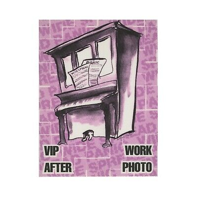 Widespread Panic authentic 1996 Fall Tour satin cloth Backstage Pass VIP purple