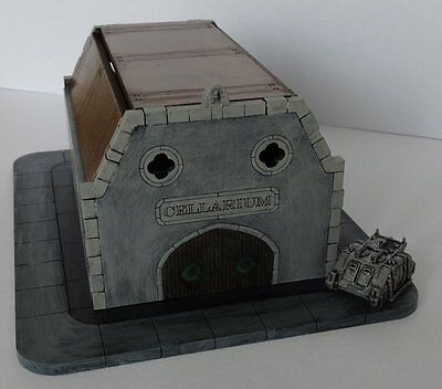 Wargames Scenery: 6mm scale Gothic Warehouse (Epic 40k FoW) buildings